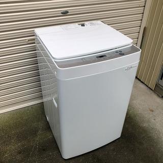 極美品 2018年製 ツインバード 全自動洗濯機 5.5kg ホ...