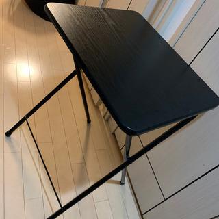 折りたたみ式テーブル(ブラック)