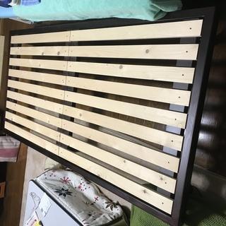 すのこベッド、組み立て簡単です