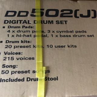 電子ドラム DD502 J  新品未開封