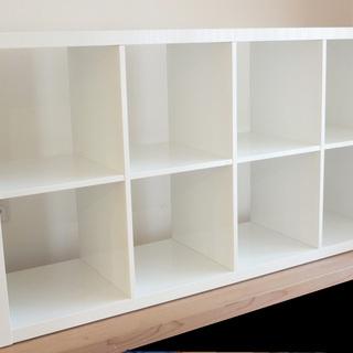 イケア IKEA 棚 KALLAX カラックス 白