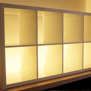 イケア IKEA 棚 KALLAX カラックス 白 - 売ります・あげます