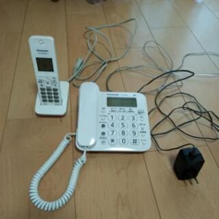 パナソニック固定電話 子機付き