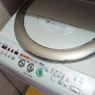 《取引中》シャープ洗濯機 8キロ ※最後まで読んで下さい