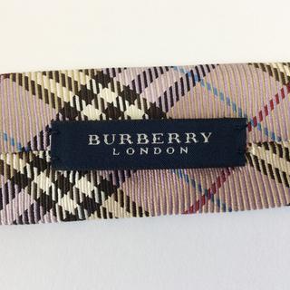 ★ BURBERRY ノバチェック柄ネクタイ MADE IN ENGLAND バーバリー - 服/ファッション