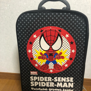 【スピードくじ】スパイダーマン キャリーケース