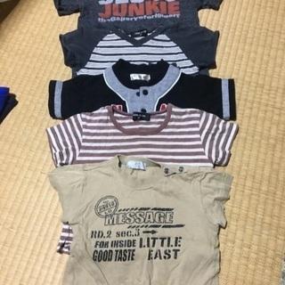 80センチ男児Tシャツ 5枚セット