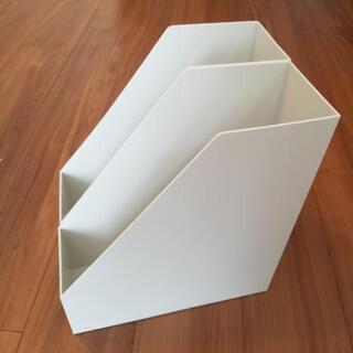 【新品】無印良品スタンドファイルボックス