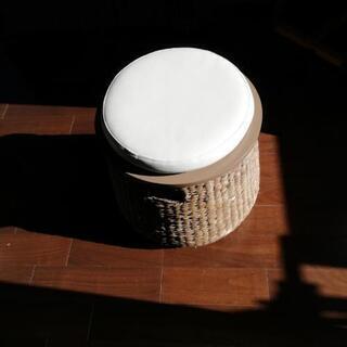 ラタン編み椅子