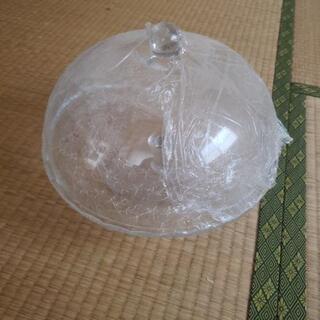 ケーキスタンド ガラス製