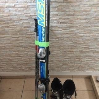子供用スキー ポール 靴セット