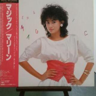 マリーン LPレコード『マジック』 master sound 盤...