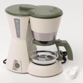 新品BRUNO ブルーノ 4カップコーヒーメーカー ベージュ メ...