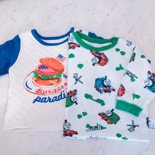 キルティング パジャマ 上のみ 2枚