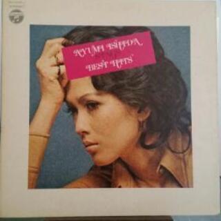 いしだあゆみ LPレコード『砂漠のような東京で』 見本盤
