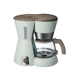 新品BRUNO ブルーノ 4カップコーヒーメーカー グリーン メ...