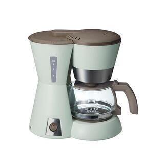 BRUNO ブルーノ 4カップコーヒーメーカー グリーン メッシ...
