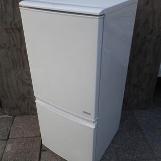 ■配達可■美品■シャープ 137L 2ドア 冷凍冷蔵庫 SJ-C...