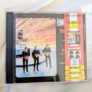 THE BEATLES②SOMETHING NEW/A HARD...