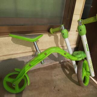 キックバイク  スクーター 2way