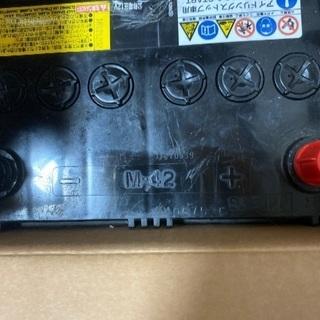 古いバッテリーですが使用していた物です