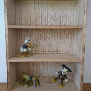 木製 三段 飾り棚