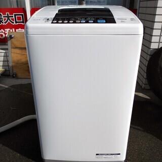 【恵庭発】日立 全自動洗濯機 NW-6TY 15年製