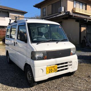 🉐平成18年式 エンジン良好!ミニキャブバン(車検付き)