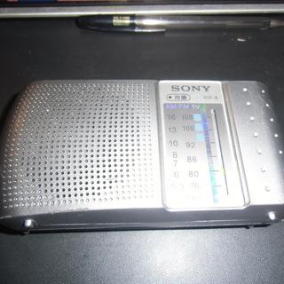 SONY FM/AMラジオ ICF-8