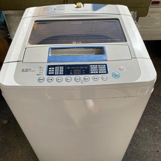 LG 全自動電気洗濯機 WF-C55SW 2012年製 5.5k
