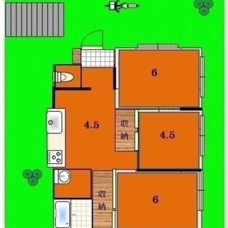 🏠☀西坂戸庭付一戸建てが380万円でリフォーム済