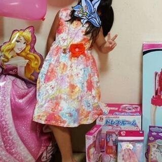 ドレス 5歳
