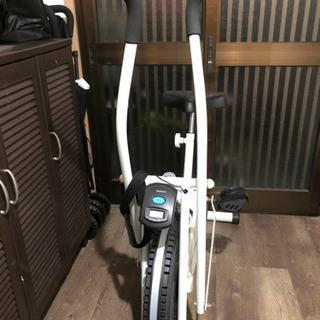エアロバイク☆ホワイト