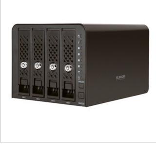 【新品】ネットワークハードディスク エレコムNSR-6S4…