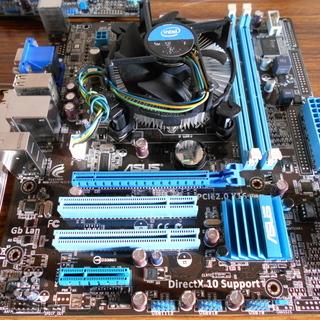 LGA1156 マザーボード ASUS P7H55-M LX  ...