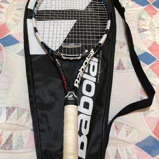 バボラテニスラケット ガット張り替え済み
