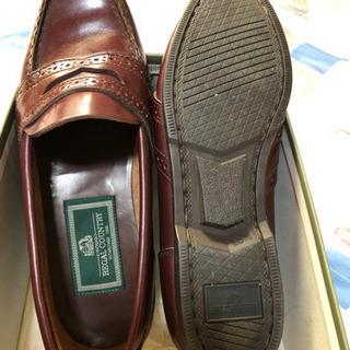 リーガル 茶色靴 23.5センチ