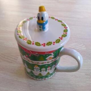 蓋付き、クリスマスマグカップ