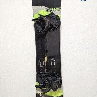 スノボ板 FLOW VIPER  154cm (バインディング&...