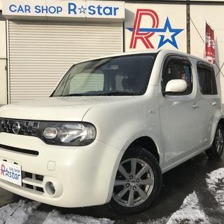 札幌発◆H22 日産 キューブ X-Vセレクション 車検新…