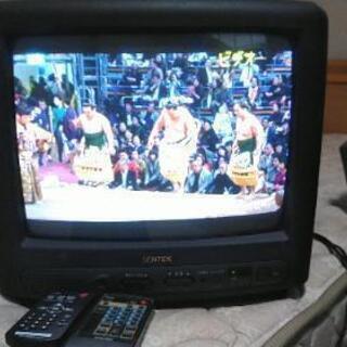 ブラウン管テレビ チューナー付き 映ります。