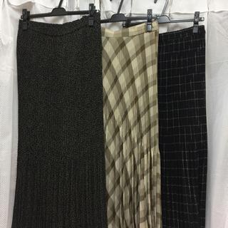 婦人 ロングスカート フリーサイズ どれでも1枚 300円
