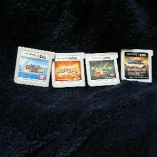 3DSソフト4点モンストなど
