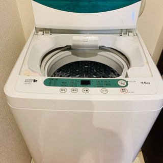 ヤマダ電機 4.5kg 洗濯機 YWM-T45A1 風乾燥搭載 ...