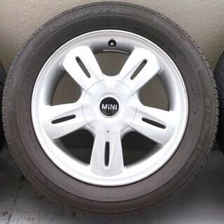 MINI ホイールタイヤセット 15インチ 5.5J PCD10...