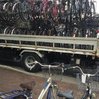 🉐【放置自転車・バイク無料撤去回収】🉐
