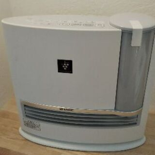 SHARP 加湿セラミックファンヒーター  HX-F120-W