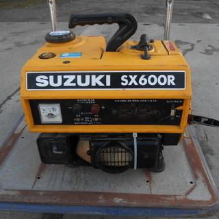☆作動品☆ スズキ 2サイクル発電機 SX600R 12V 100v