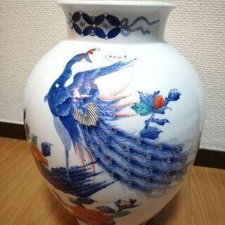 有田焼 花瓶 鳳凰