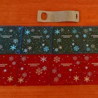 スタバ 限定品 2007クリスマスコースター 8枚セット